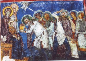 Fresco in Cappadocia