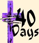 Lent Image-40days