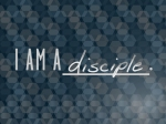 i am a disciple LOGO